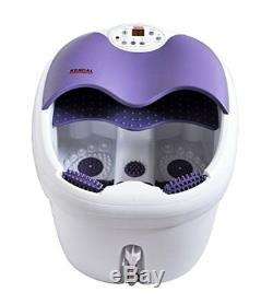 Kendal Massage Pied Roulant Chaleur Spa Bain Soins De Santé Coffret Cadeau Eau Unisexe