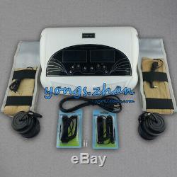LCD Double Pied Detox Machine Ionique Bain De Pieds Spa Cellule Cleanse Far Ceintures 5 Modes