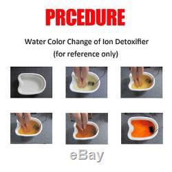 LCD Ionique Double Cellule Cleanse Detox Bain De Pieds Spa Machine Avec Infrarouge C Baudrier