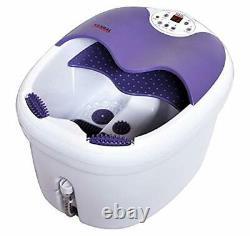 Le Tout Dans Un Pied Spa Masseur De Bain Avec Motorized Rolling Massage Chaleur Wave O2 Bu
