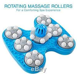 Livefine Foot Baths & Spas Spa Massager Bain Chauffant, Rouleaux Automatiques, Pluie