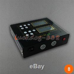 Machine LCD Avec Bain De Spa Double Ionique Pour Pieds Et Detox, 2 Ceintures En Sapin, 5 Modes Et 2 Rangées