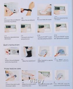 Machine Personnelle Ionique Detox Cleanse Spa Chi Cellulaire Ion Bath Ceinture Infrarouge