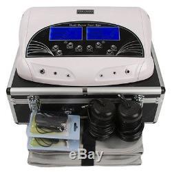 Machine Professionnelle De Double Bain De Pieds Et Spa Ionique Detox LCD Avec Modèle Case 2019