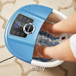 Massage De Bain De Spa De Pied Avec Des Bulles De Chaleur, Rouleaux De Massage De Shiatsu Grande Taille