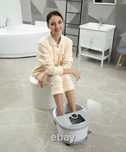 Massage De Bain De Spa De Pied Avec La Chaleur Et La Machine Automatique De Spa De Pied De Pied De Pied