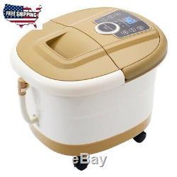 Massage Portable Led Avec Spa Bain De Pieds De Massage 500 W Afficher 18x12.5x15.5