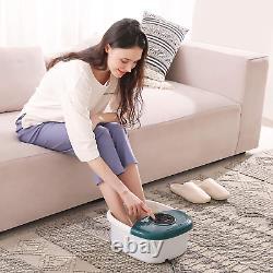 Massager Bain De Pieds Portable Vibrating Spa Home Salon Pedicure Tired Feet