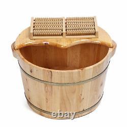 Massager De Bain De Bain De Spa De Pied Avec Couverture Plus Et Boules De Massage