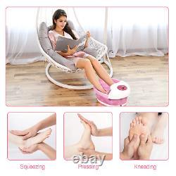 Massager De Bain De Pied Misiki De Spa De Pied Avec La Vibration De Bulles De Chaleur Et L'arrêt Automatique