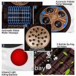 Massager De Bain De Pied Spa Avec Chaleur Et Massage, Automatique Shiatsu Noir