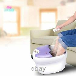 Massager De Bain Spa Pied Avec Moteur De Massage À Rouleaux Affichage Led De Commande Numérique