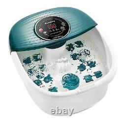 Massager De Spa Pour Pieds Maxkare Avec Chaleur, Bulles Et Vibrations