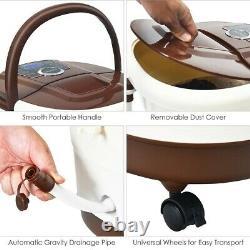 Massager Motorisé Portable Chauffé De Bain De Bain De Spa De Pied Électrique