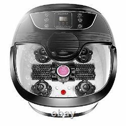 Massager Ovitus Foot Spa Bath Avec Heat Bubbles Rollers Time& Temprature Control