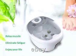 Massageur De Bain De Spa De Pied Avec La Chaleur, Vibration De Hf, Bulles D'o2, Thérapie De Pédicure, Nouveau
