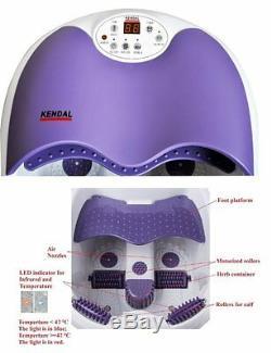 Masseur De Pieds Spa Chauffant Pour Les Pieds Et Les Mollets Vague Vague Thérapie Par Le Massage Nouveau