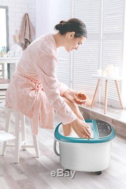 Masseur Pour Le Bain De Pieds Avec Chaleur, La Machine De Spa Pour Les Pieds Comprend Une Baignoire Avec Pieds