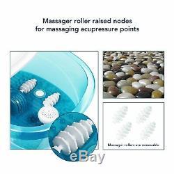 Maxkare Foot Spa Bain De Pieds Masseur Avec Chaleur Et Massage Vibrations Bulles 3