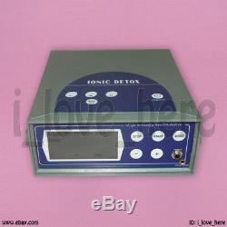 Mise À Jour LCD Detox Spa Ionique Cleanse Cellulaire Ion Bain De Pieds Machine 5 Modes Ce