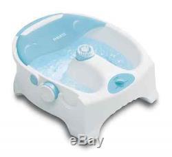 New Homedics Heated Bubble Spa # Bl-150 Brosse De Massage Pour Bain De Pieds De Luxe