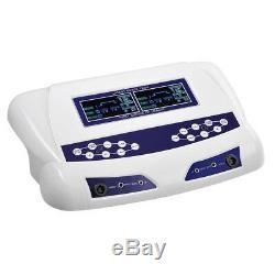 Nouveau Double Utilisateur Bain De Pieds Spa Ionique Machine De Désintoxication Cellulaire Cleanse Machine LCD Couleur