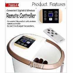 Nouveau Foot Love Mhj-950a Foot Bath & Spa Homedics Soins Des Pieds 20l 220v Télécommande