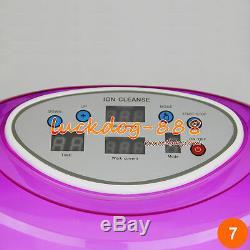 Nouveau Ionique Detox Machine Spa Bain De Pieds Nettoyer Cellulaire Bain Masseur + 2 Tableaux Noirs