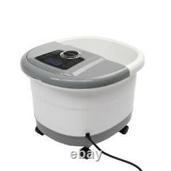 Nouveau Massage Des Pieds Pedicure Hydrothérapie Spa Bubbles De Bain Minuterie Motorisée