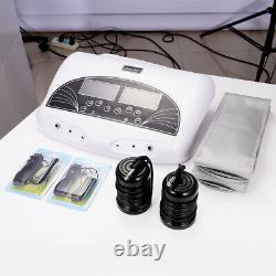 Nouveau Pro Dual Ion Detox Ionic Foot Baignoire Spa Nettoier Machine Infrarouge Ceinture LCD