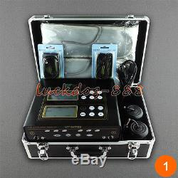 Nouvelle Machine LCD Double Bain De Spa Ionique Pour Pieds Detox Et 2 Ceintures De Sapin 5 Modes De Nettoyage Ionique