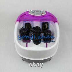 Optimal Ionique Detox Bain De Pieds Nettoyer Spa Avec Bassin Et 4 Tableaux Tub Ronde