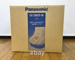 Panasonic Eh2862p-w Pied Spa Vapeur Blanche Pied Spa Loin Infrarouge Chauffage