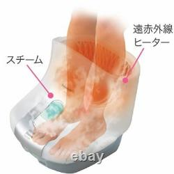 Panasonic Steam Foot Spa Eh2862p-w Far Infrared Heater White 100v Du Japon F/s