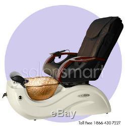 Pédicure De Baignoire Sur Pieds Pour Baignoire Pedi Chair Bol En Verre D'équipement De Spa Cleo Gx Gax