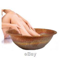 Pédicure Pied Cuivre Bowl Salon De Beauté Spa Tremper Bain De Lavage Massage Therapy