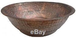 Pédicure Rustique Cuivre Pied Portable Baignoire De Lavage Massage Spa Therapy Bowl