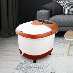 Pied Électrique Portable Baignoire Spa Shiatsu Rouleau Motorisé Massager Chauffage Rapide
