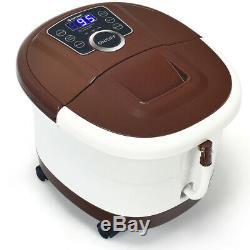 Pied Portable Baignoire Spa Motorisé Massage Électrique Pieds Salon Baignoire