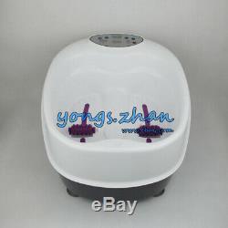 Pieds De Baignoire Pourpre Ionique Detox Ion Bain De Pieds Nettoyer Cellulaire Spa Machine Toxine Enlèvement