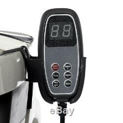 Pliable Foot Spa Relax Massage Bain Chauffage Électrique Baignoire Télécommande Filaire