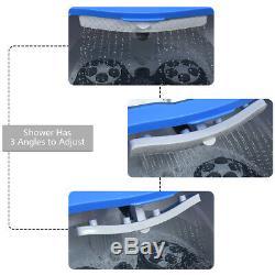 Portable Foot Spa Bain Motorisé Massage Pieds Électrique Accueil Baignoire Douche Bleu