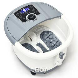 Portable Multifonction Bouillotte Baignoire Spa Shiatsu Rouleau Motorisé Massager