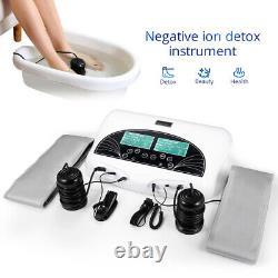 Professional Dual User Ion Detox Ionic Foot Bath Ion Spa Machine De Nettoyage De Cellules