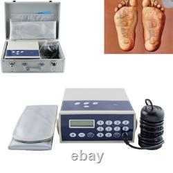 Professionnel Ionic Detox Foot Bath & Spa Chi Cleanse Massager Machine Body Relax