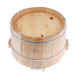 Profonde Foot Spa Bain En Bois Bassin Baignoire Massage Des Pieds Seau Couvercle Barrel Bowl