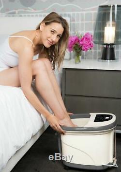 Prospera Veau Pure Et Pied À Pied Spa Avec Des Rouleaux De Massage Shiatsu Chaleur