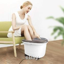 Renpho Foot Spa Bain De Massage Avec Chauffage Rapide, Automatique Massage, Puissant Bub