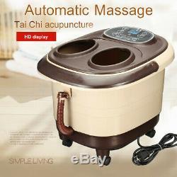 Rouleaux Automatiques De Chaleur De Roulement Motorisés Par Thérapie De Massager De Bath De Station Thermale De Pied De Digital