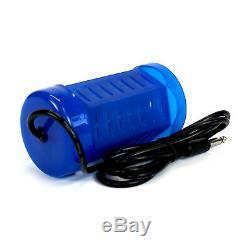 Round Bleu Detox Bain De Pieds Ionique Matrice Spa Cleanse Aqua Cellule En Acier Inoxydable